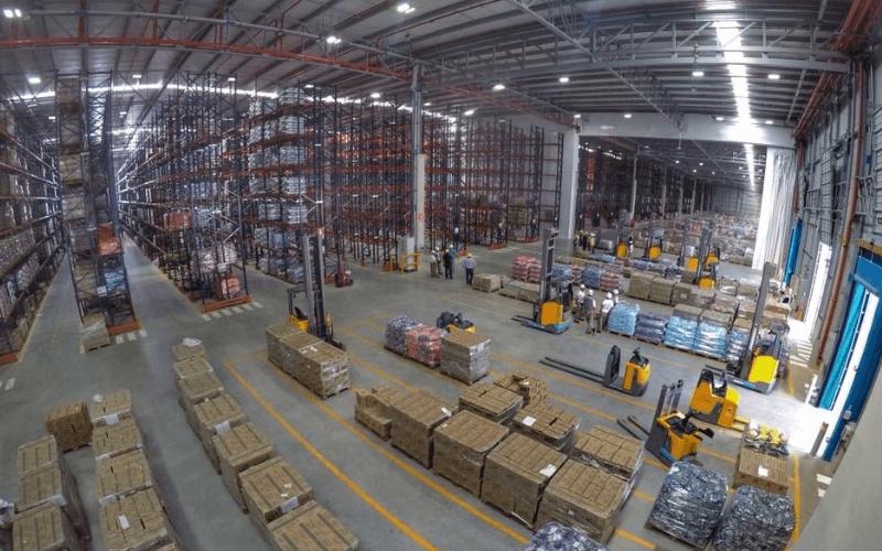 Alicorp Centro de Distribución de Huachipa